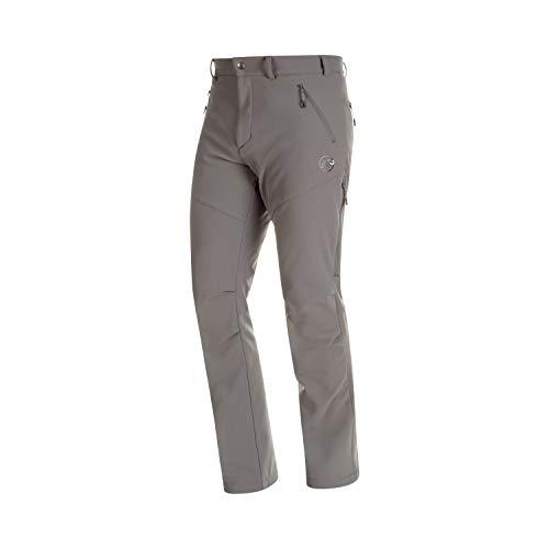 Mammut Winter Hiking Softshell XC Ski Pants Mens Sz 36 Titanium