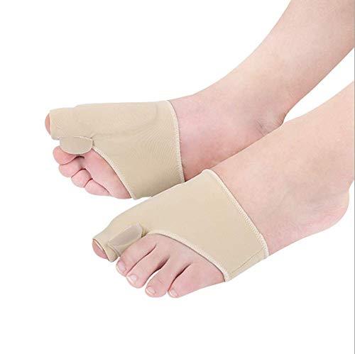 1Pair Big Bone Orthopedische Bunion Correctie Pedicure Sokken Silicone hallux valgus Corrector Bretels Toes Separator Feet Care Tool,S