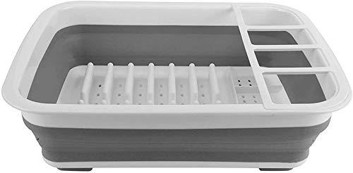 JXLBB - Escurridor de cocina para escurridor, organizador multifuncional para ahorrar espacio