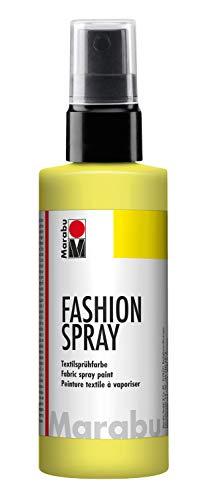 Marabu Lemon - Pintura Textil pulverizador 100 ml