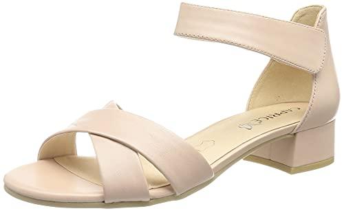 Caprice Damen 9-9-28202-26 Sandale mit Absatz, Rose Perlato, 38 EU