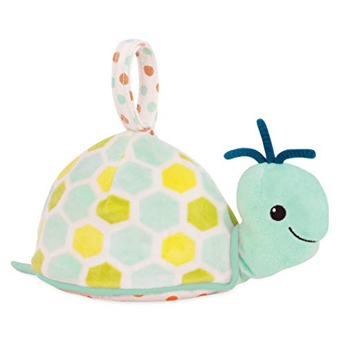 B. toys - Glow Zzzs Turtle - Glowable Soothing Plush Turtle