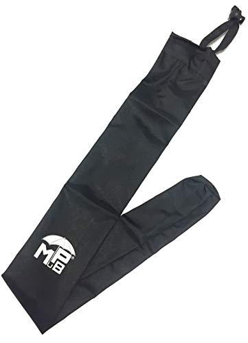 Orig. MPB schermhoes zwart, geschikt voor rolgordijn, met trekkoord