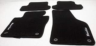 OEM VW Beetle All Carpet Floor Mats 5C1-061-370-A-FBN Black & Black