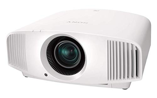 Sony Home Theater Projector VPL-VW295ES: Full 4K HDR Video Projector for TV, Movies and Gaming - Home Cinema Projector with 1,500 Lumens for Brightness and 3 SXRD Imagers for Crisp, Rich Color- White