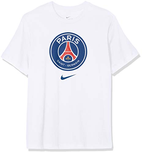 Nike Herren Paris Saint-Germain T-Shirt, Weiß (White 100), Large