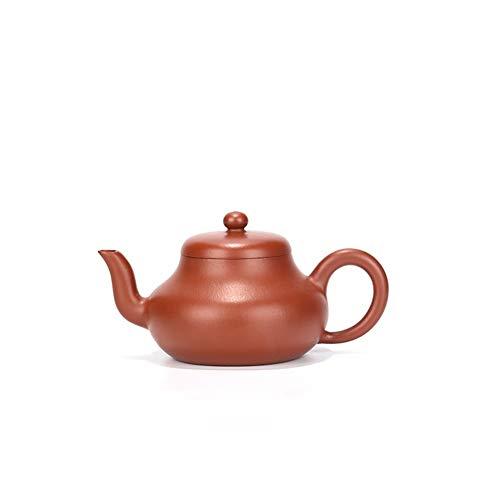 Tea cup Teapot Famous Hand-wrinkled Skin Zhuni Pear-shaped Teapot Kung Fu Tea Pot CRTTRC Teapot (Color : Wrinkled pores and skin)