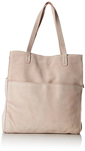 PIECES Damen Pcgwen Suede Shopper Schultertasche Pink (Rose Dust)