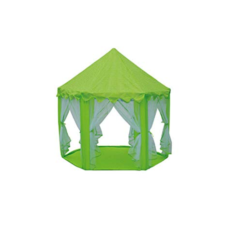Tents Children's Toy House, Children's Bookstore Reading Corner Breathable House Play Ball Pool for Kids (Color : Green, Size : 140 * 135CM)