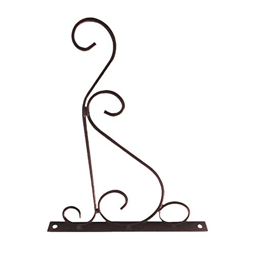 1Pcs Hanging Plants Bracket Iron Plant Hook Wall Mount Planter Hangers for Hanging Bird Feeders, Lanterns, Wind Chimes, Planter - Outdoor Decoration Hooks Come with Screws