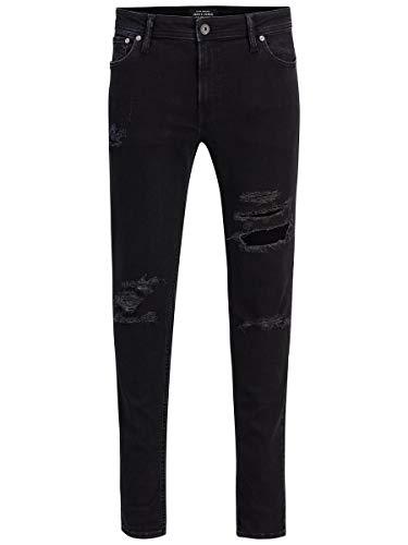 JACK & JONES Male Skinny Fit Jeans Liam ORIGINAL AM 502 2930Black Denim