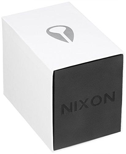 Nixon A1191308-00 Montre Bracelet Homme Caoutchouc Noir