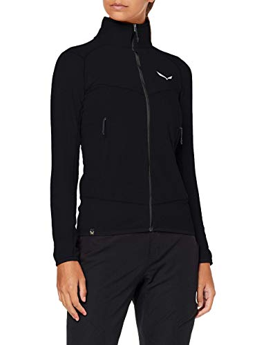 Salewa 00-0000027565_910 Polaire Femme Black Out FR: M (Taille Fabricant: 44/38)