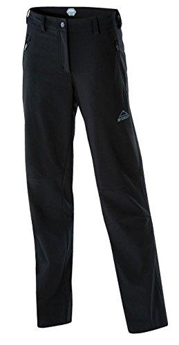 McKinley Softshellhose Sheldon Kurzgröße (Größe / Farbe: 22 Kurzgröße (Damengröße 44) - 050 schwarz)
