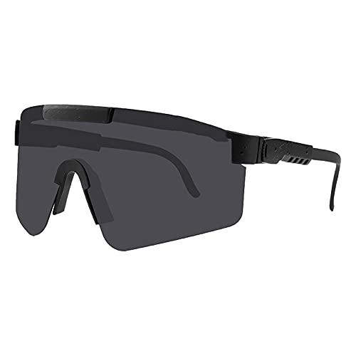 BTBT Gafas de Ciclismo, Gafas de Sol polarizadas Deportivas Deportes al Aire Libre a Prueba de Viento UV400 Gafas de Ciclismo Correr Pesca y Actividades al Aire Libre Gaf C1