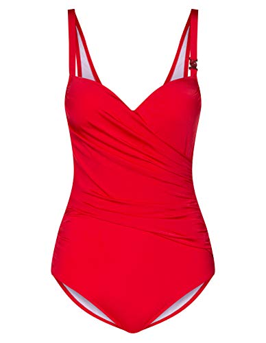 Damen Bs, Soft-cup, elastic built-in support Cherry 48