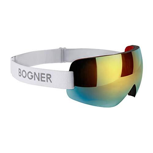 Bogner Snow Shade Ski-Brille Gold | White