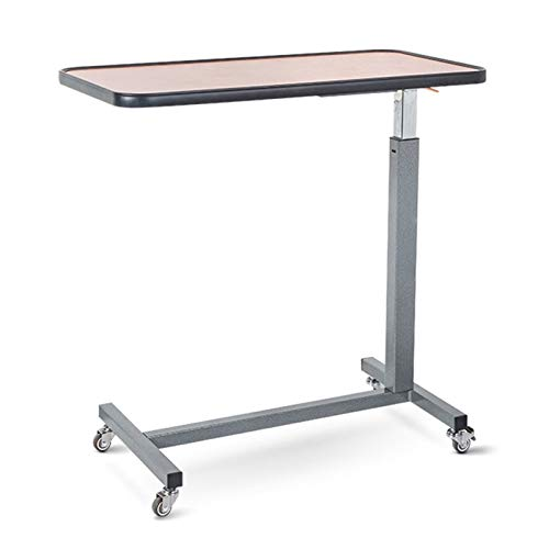 Portable Overbed/Chair Table Sofa Side Notebook Laptop Desk PC Stand Height Adjustable Overbed Table Mobile Desk Foldable Laptop Stand FFFF (Color : Orange)