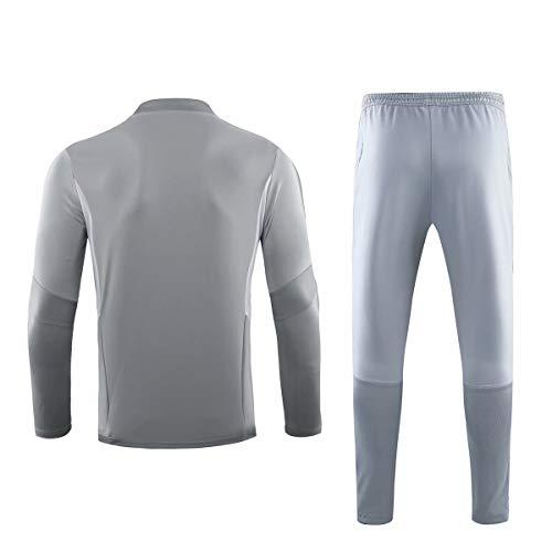 ZNMJW Fan Shirts New Season Adult Long-Sleeved heren voetbal sportkleding trainingskleding, kan worden aangepast met elke naam en nummer, Geschikt voor Ajax fans