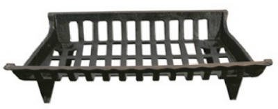 %18 OFF! GHP CG24 24 in. Cast Iron Fireplace Grate44; Black