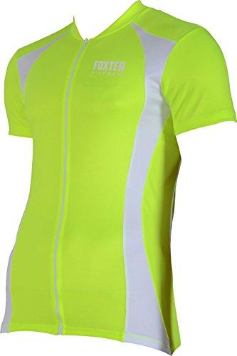 Foxter - Camiseta ciclismo hombre manga corta, Hombre