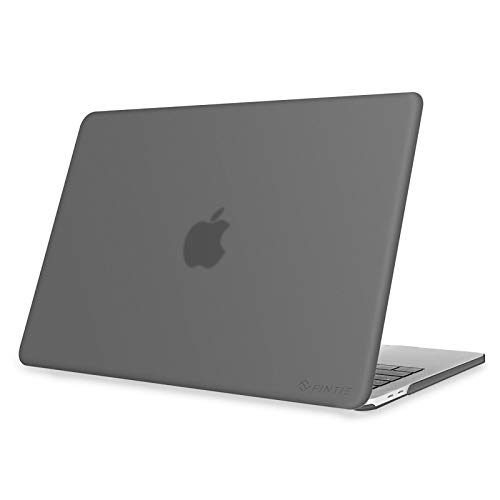Fintie Protective Case for New MacBook Pro 13 (2020 Release) - Snap On Hard Shell Cover for MacBook Pro 13 Inch A2251 / A2289 with Touch Bar and Touch ID, Frost Gray