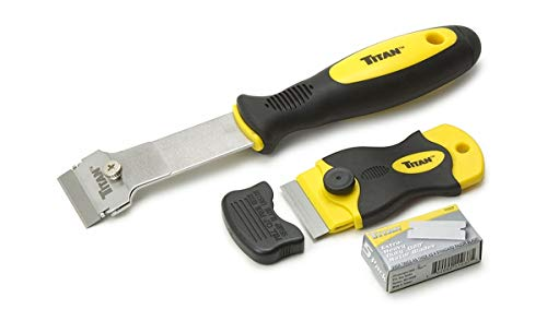 Titan 17002 2-Piece Multi-Purpose and Mini Razor Scraper Set