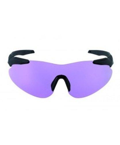 BERETTA Schießbrille Challenge - Gafas de esquí, Color Morado