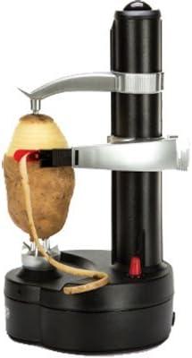 A potato being peeled