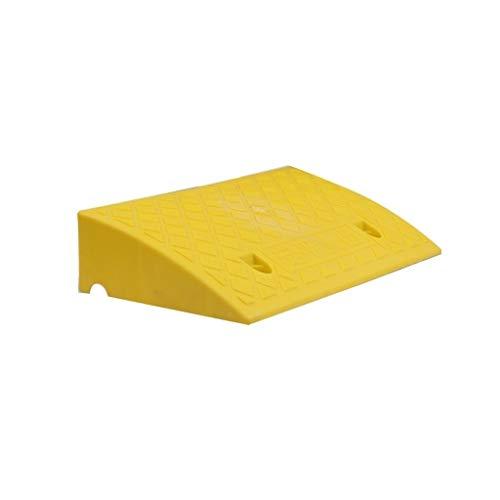 Buffer-Feng deurmat van kunststof, antislip voor camper, helling voor trottoirs, veelzijdig bruikbaar, voor grasmaaiers, zwart/groen/geel