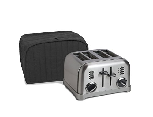 Ritz 8014 Four Slice Toaster Appliance Cover, 1 Count(Pack of 1), Black