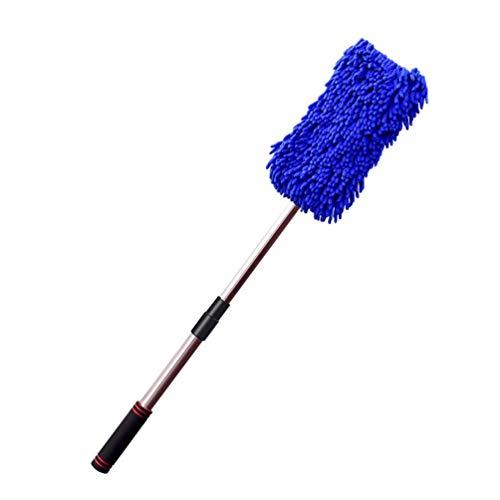 Sallypan Car Wash Mop, Teleskop-Multifunktion Spezialwagen-Pinsel Long Handled Soft Haar-Auto-Reinigung Werkzeug