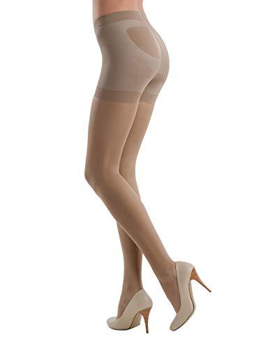 Conte™ X-Press Modelling Damen Shapewear formende Strumpfhose in verschiedenen Farben 20 DEN - 40 DEN Textiles Vertrauen nach Öko-Tex Standard 100 S - in 20 DEN Natural