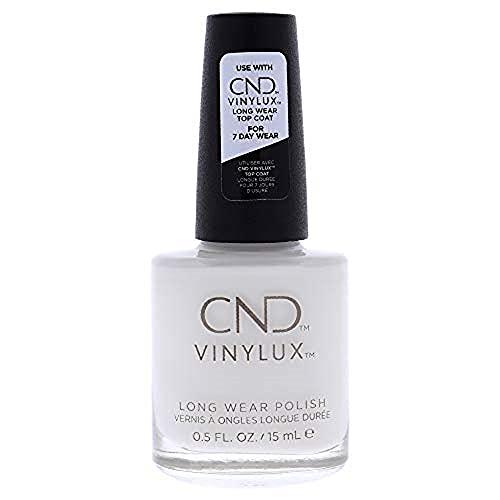 Creative Nail Creative Nail Design Vinylux Nail Lacquer, Cream Puff, 0.5 Fluid Ounce