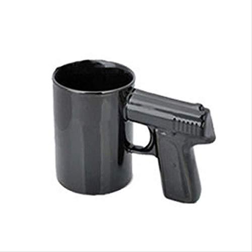 FHFF Koffie Cup Nieuwe Creatieve Handvat Koffie Cup Keramische Mok Glaswerk Drinkware Pistool Handvat Cups 1