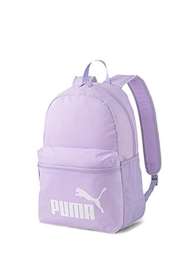 PUMA Unisex-Kinder Phase Backpack Tagesrucksack, Helles Lavendel (Mehrfarbig), Einheitsgröße