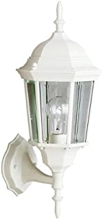 Kichler 9653WH Madison Outdoor Wall 1-Light, White