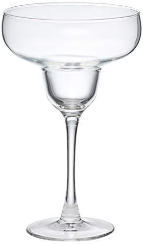 AmazonBasics Chelsea Margarita Glass Set, 14.5-Ounce, Set of 6