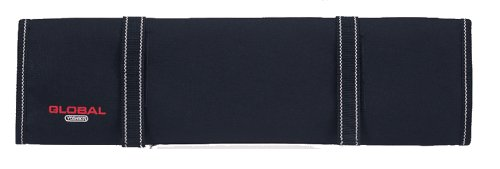 Global G-668/10 - Knife Roll with 10 Pockets