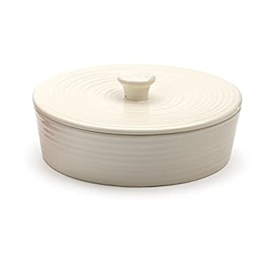 RSVP International MAIZ-W Stoneware Tortilla Warmer & Server, 8 Inch, White