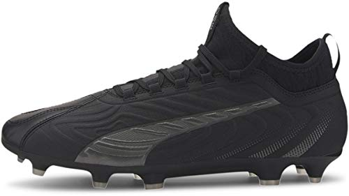 PUMA Mens One 20.3 Firm Ground Soccer Cleats - Black - Size 11 D