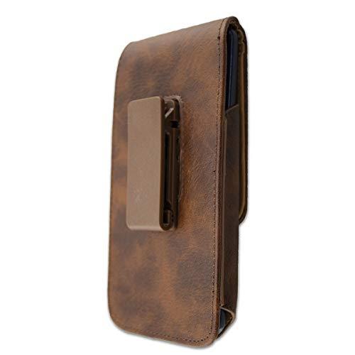 caseroxx Handy Tasche Outdoor Tasche für Energizer Power Max P20, mit drehbarem Gürtelclip in braun