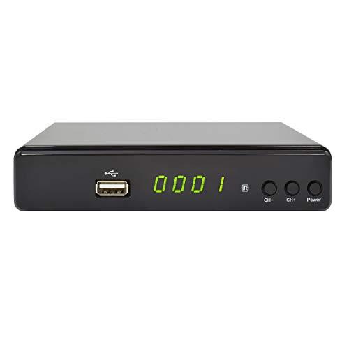 COMAG HD45 Digitaler HD Sat Receiver (Full HD, HDTV, DVB-S2, HDMI, SCART, USB 2.0) schwarz