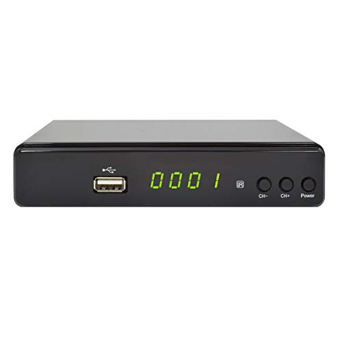COMAG HD45 Digitaler HD Sat Receiver (Full HD, HDTV, DVB-S2, HDMI, SCART, USB 2.0) schwarz