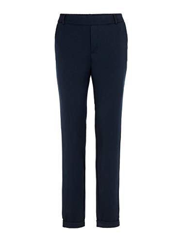 Vero Moda VMMAYA MR Loose Solid Pant Noos Pantaloni, Blu (Night Sky Night Sky), 38/ L30 (Taglia Unica: Medium) Donna