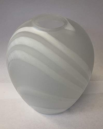 Lampenglas Lampenschirm Muster Streifen E14 Pendellampe G5943