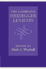 The Cambridge Heidegger Lexicon Kindle Edition