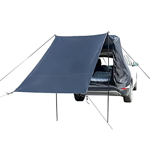 yahede Autoluifel, campingbus zonnezeil, voortent, zonnedak, campingbenodigdheden, standaard voor caravan, SUVs, MPV, Hatchback, minivan, limousine, outdoor, bescherming tegen zon en regen