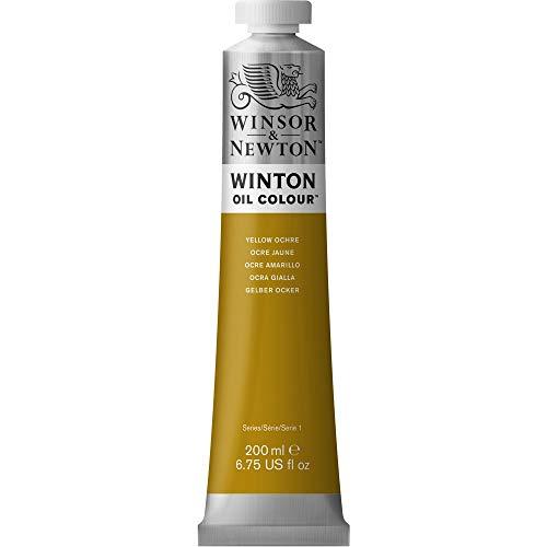 Winsor & Newton Winton - Tubo De Pintura Al Óleo, 200 ml, Ocre Amarillo