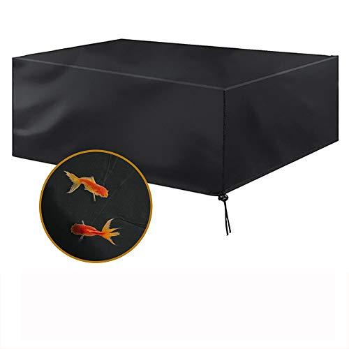 Funda Protectora para Muebles de jardín Funda Muebles Exterior Impermeable Anti-UV Protección Cubierta de Muebles de Mesas Oxford Negro (170 x 94 x 70 cm)